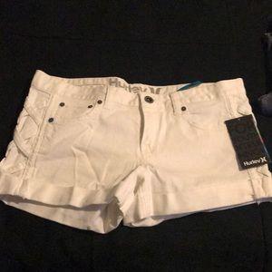 White Shorts Hurley